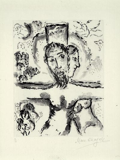 Marc Chagall, 'Crucifixion', 1967