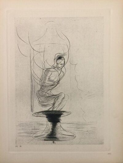 """Odilon Redon, 'Illustration from the series """"Les Fleurs du Mal""""', 1923"""