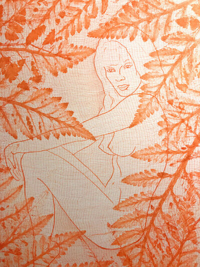 Indira Cesarine, 'Eve In the Leaves', 2019