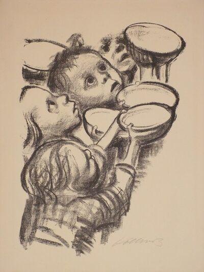Käthe Kollwitz, 'Deutschlands Kinder hungern,  Germany's Children are Hungary', 1923