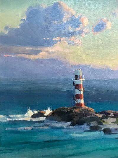 Kathleen Hudson, 'Lighthouse at Sunrise', ca. 2018
