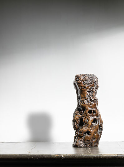 Unknown Chinese, 'A naturally formed root wood vase 天然木瓶', NA