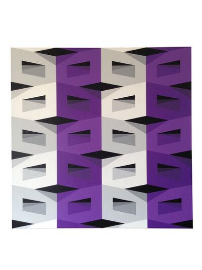 Alberto Jose Sanchez, 'Vertical Violet', 2016