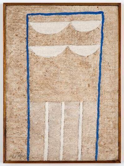 Alfredo Volpi, 'Elementos de fachada', 1960's