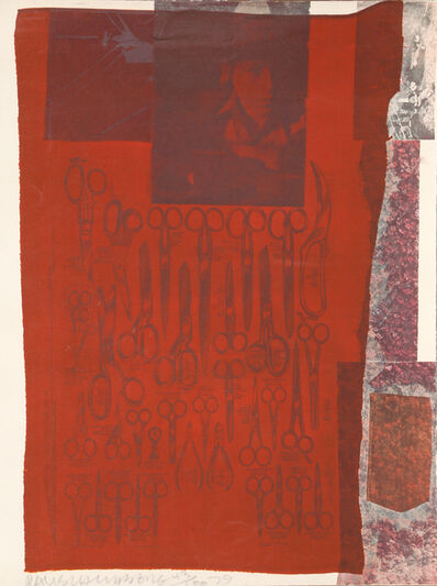 Robert Rauschenberg, 'The Most Distant Visible Part of the Sea', 1979