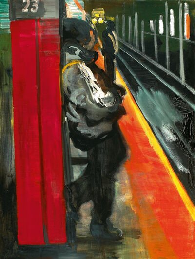 Rainer Fetting, 'Subway, N.Y. 23rd', 2005