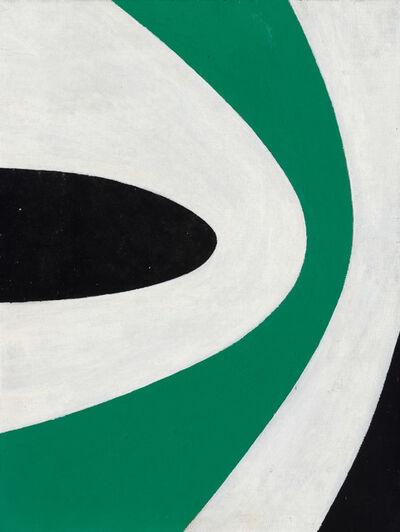 Charles Green Shaw, 'Green Upsurge', 1966