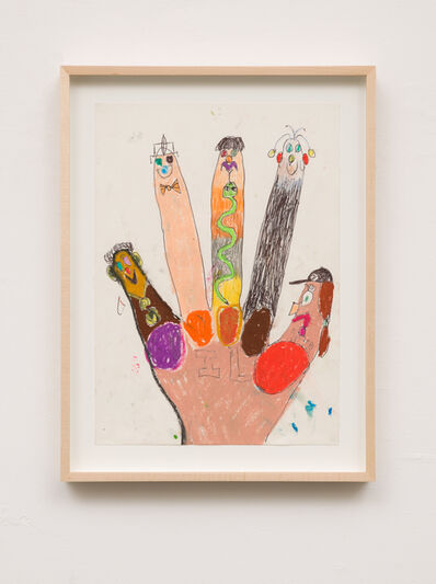 Michael Swaney, 'Finger fam 5', 2018