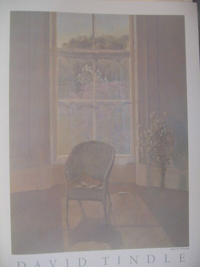 David Tindle, 'Signed Chair POster'