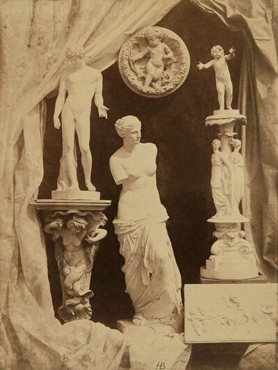 Hippolyte Bayard, 'Untitled (Still life with statuary)', circa 1855
