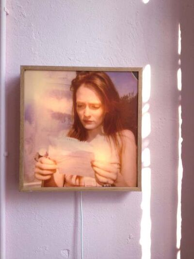 Stefanie Schneider, ''Lonely Hearts Room' lightbox: 'Margarita's Letter'', 2008