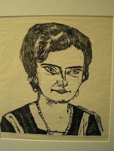 Max Beckmann, 'Frau H. M. (Nalia)', 1923