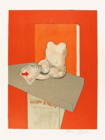 Francis Bacon, 'Study of a human body after Ingres ', 1984