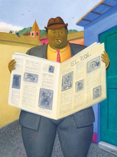 Fernando Botero, 'The Reader', 2013