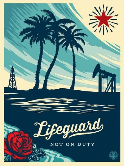 Shepard Fairey, 'Life Guard On Duty', 2014