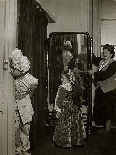 Robert Doisneau, 'Children in Costume with Mirror', 1948/1948c
