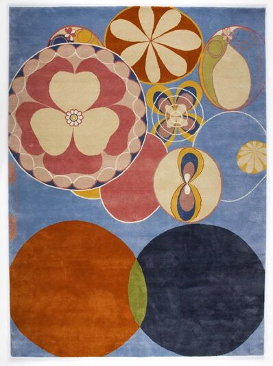 Hilma af Klint, 'Group IV, no 2. The Ten Largest, Youth', 2018