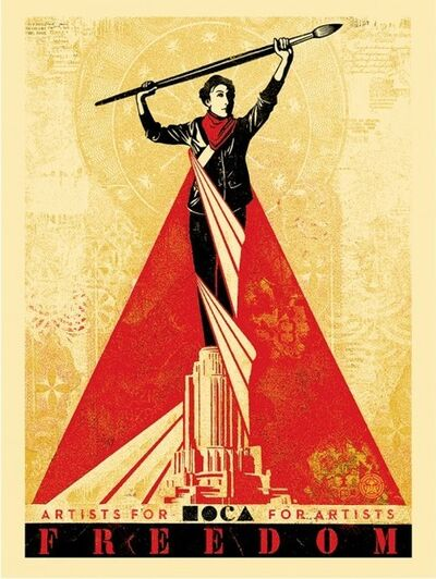 Shepard Fairey, 'Artists For Freedom', 2015
