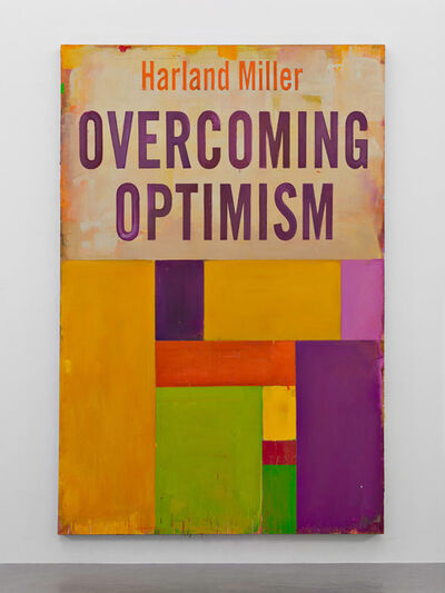 Harland Miller, 'Overcoming Optimism', 2016
