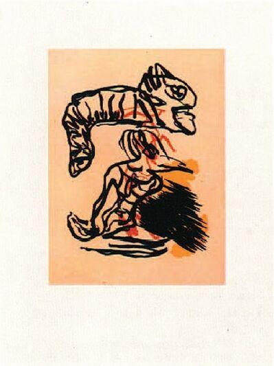 Karel Appel, 'Salto sobre la cabeza', 1988