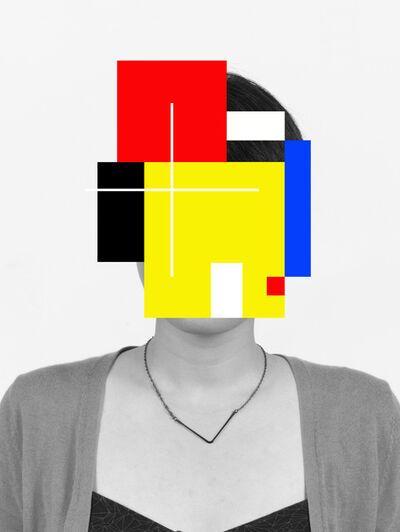 Douglas Coupland, 'Deep Face', 2015