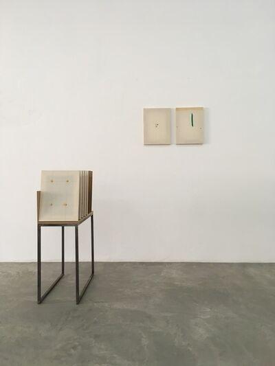 Riccardo Baruzzi, 'Il porta pittura del dritto con una rovesciata', 2017