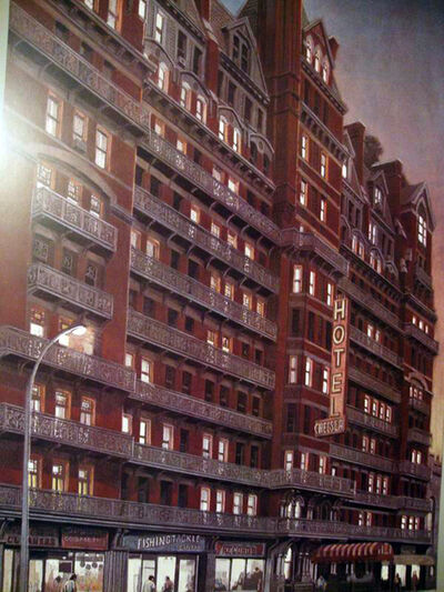 Richard Haas, 'Chelsea Hotel, Sunset ', 1980
