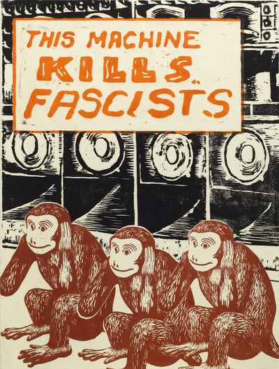 Nobuaki Takekawa, 'This machine kills fascists', 2016