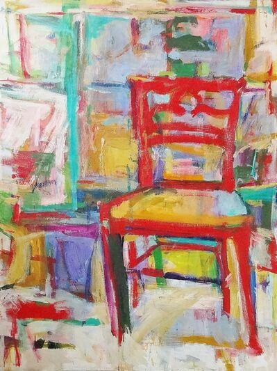 Diana Kurz, 'The Red Chair', 1961