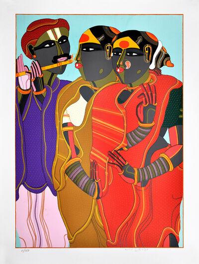 Thota Vaikuntam, 'Flute Player', 2019