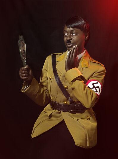 Nicolas Demeersman, 'Rewrite history in black - Hitler II', 2016