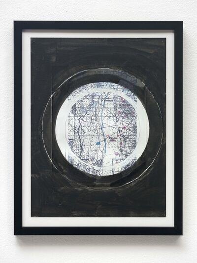 Oscar Tuazon, 'Chain Letter (Exhibit, Dry Lake Valley)', 2017