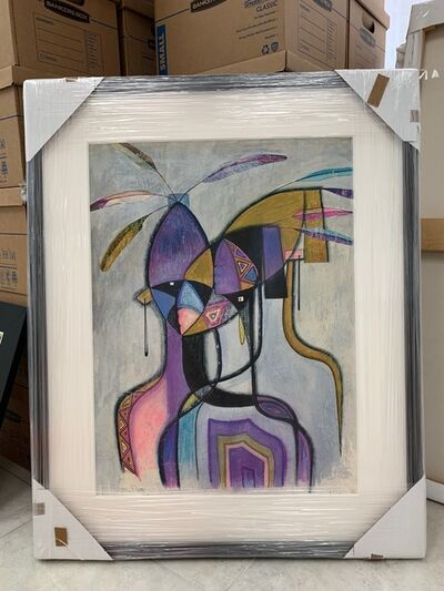 Carmen Diez Onate, 'Carmen Diez Onate oil painting', ca. 1970