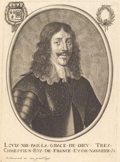 Balthasar Moncornet, 'Louis XIII, King of France'