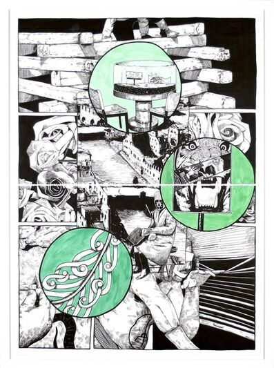 William Buchina, 'Lower than the Lowest Animal #6', 2014