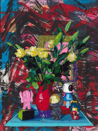 Norman O'Flynn, 'Still life with red vase', 2019