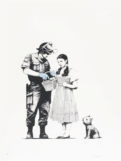 Banksy, 'Stop and Search - Signed', 2007