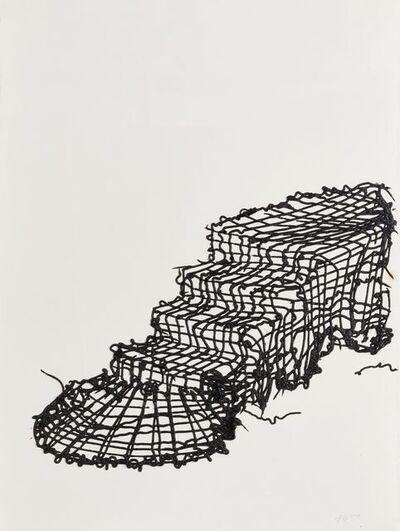 Angel Otero, 'Macrame Stairs', 2009