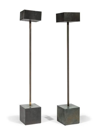 Robert Graham, 'Pair of Unique Standing Lamps', circa 1983
