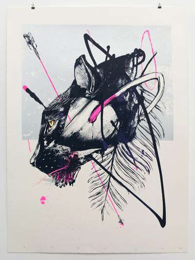 TWOONE, 'Hunted Hunter's Head-Panther', 2015