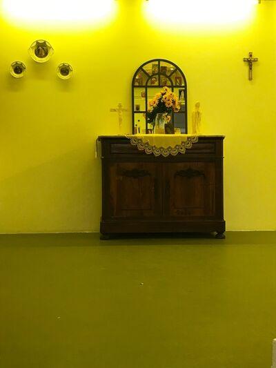 Bruno Creuzet, 'The mystery of the yellow room - Postulat et hypothèse', 2018