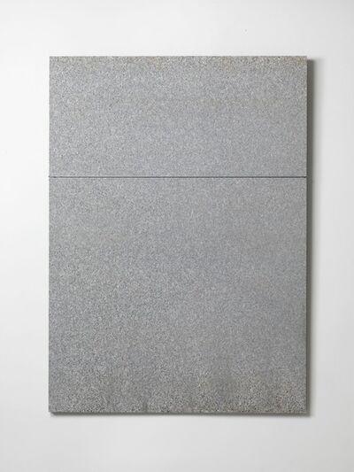 Giovanni Anselmo, 'Mentre il colore solleva la pietra e la pietra solleva il colore', 2016