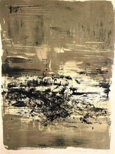 Zao Wou-Ki 趙無極, 'LX', 1962