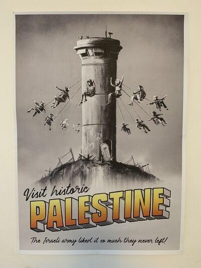 "Banksy, 'BANKSY ""VISIT HISTORIC PALESTINE"" PRINT', 2018"