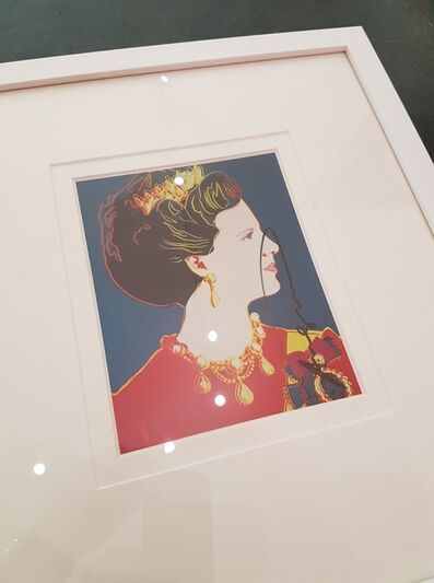 Andy Warhol, 'Queen Margrethe of Denmark', 1985