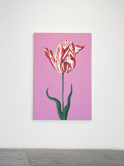 Libby Black, 'Red and White Tulip', 2016