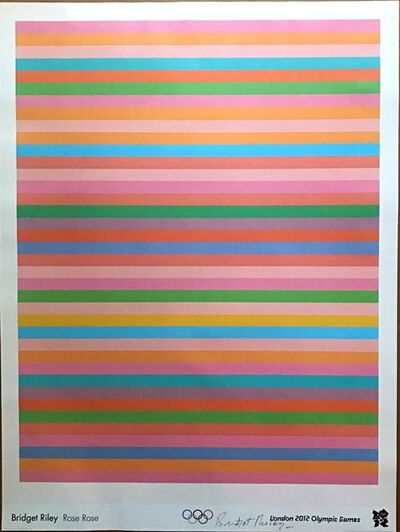 Bridget Riley, 'Rose, Rose', 2011