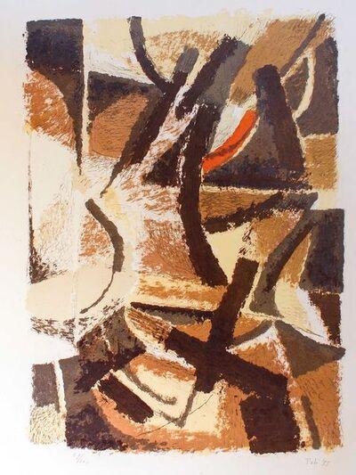 Toti Scialoja, 'Abstract Landscape', 1955