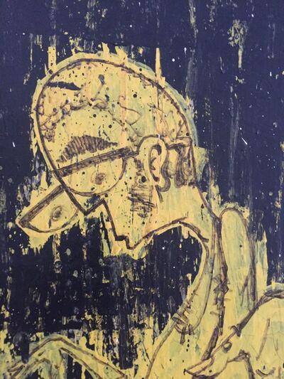 """Ales """"BASK"""" Hostomsky, 'Dim', 1999"""