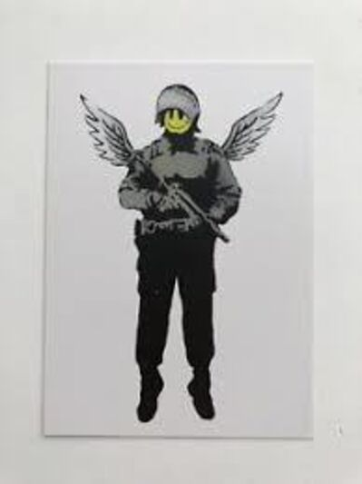 Banksy, 'Angel Cop (Flying Copper) 2005', 2007
